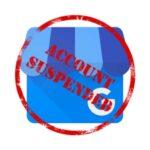 Ficha suspendida en Google My Business