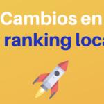 Google cambia los resultados del SEO local