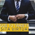 Consigue tu tarjeta de visita virtual