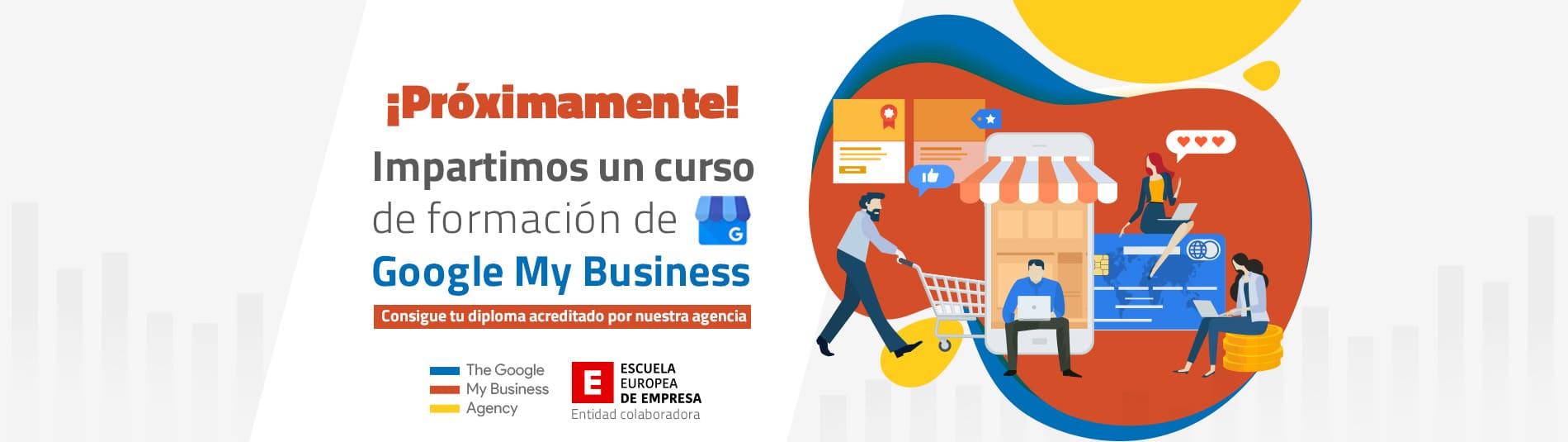 Curso de Google My Business de la Escuela Europea de Empresa