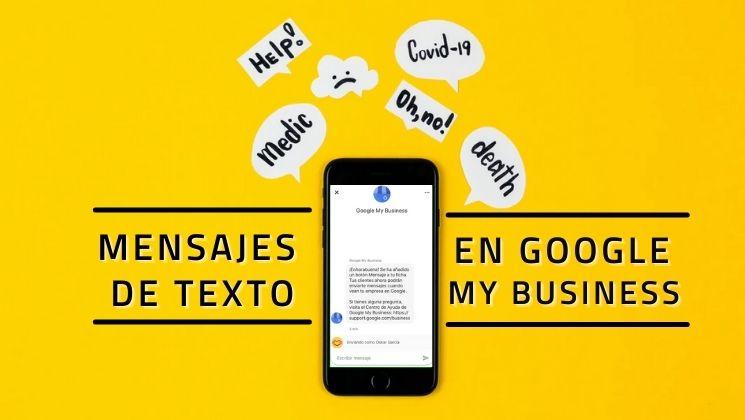 Mensajes en Google My Business